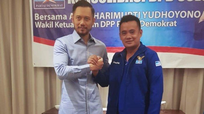 Meski Dipecat, Ketua DPC Demokrat Bolmut Apresiasi Mor Bastiaan, Rangkul Pengurus yang Ikut KLB
