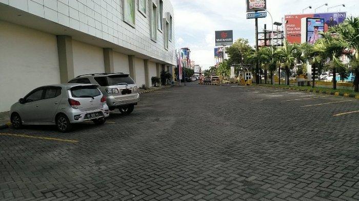 Mantos, Kota Manado, Sulawesi Utara terlihat lengang di masa PPKM, Kamis (12/8/2021).