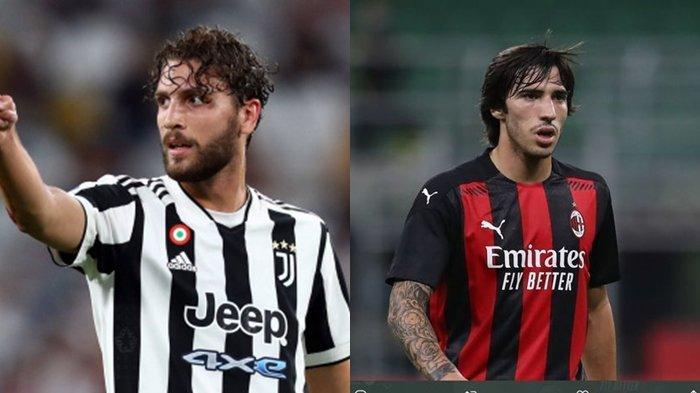 Juventus Vs AC Milan Tanpa Zlatan Ibrahimovic, Panggung Pembuktian Locatelli dan Sandro Tonali