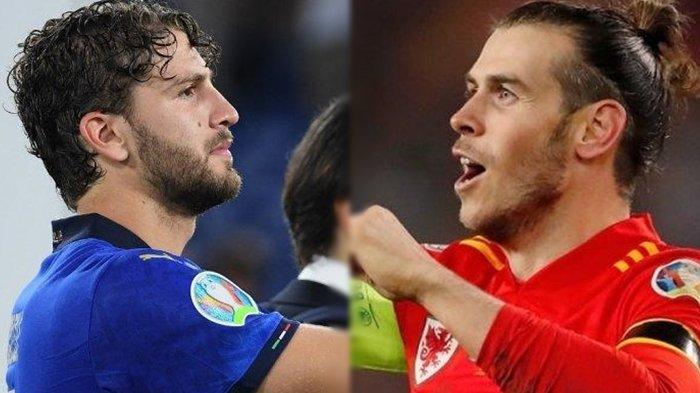 Sementara Berlangsung, Live Streaming Euro 2020 Grup A, Italia vs Wales, The Dragon Wajib Menang