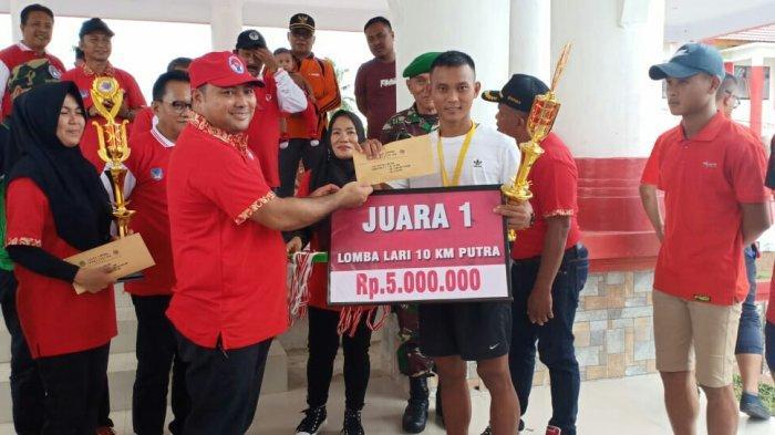 Prajurit TNI dari Koramil Dominasi Juara Lomba Lari Marathon 10 Km