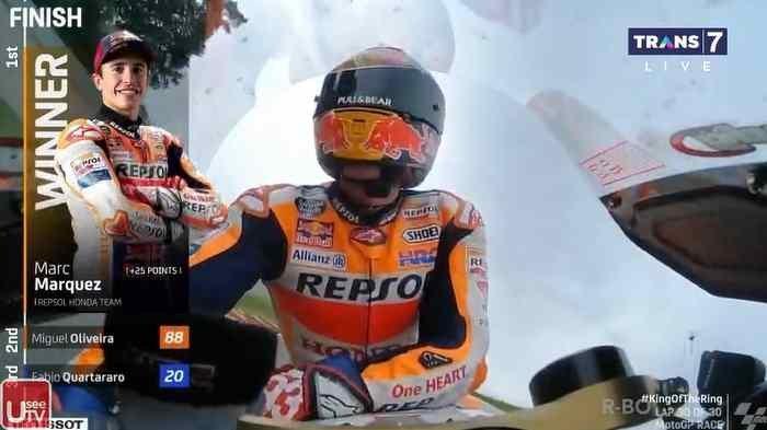 HASIL MotoGP 2021 Jerman, Marc Marquez Buktikan Raja Sachsenring