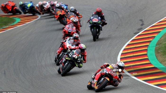 Hasil Race MotoGP Amerika 2021, Marc Marquez Terdepan, Gagalkan Catatan Rekor Bagnaia, Rossi?