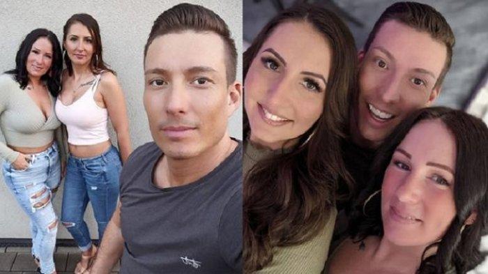 Pria Ini Minta Izin pada Istri untuk Nikahi 2 Pacarnya Usai 9 Tahun Menikah, Kini 3 Wanitanya Akur