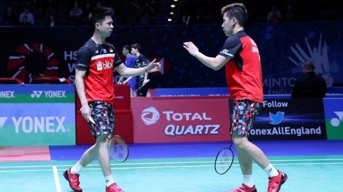 Indonesia Open 2019 - Pertemuan Kesembilan Dua Pasang Ganda Putra Indonesia