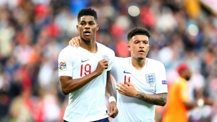 Hasil Inggris vs Rumania, Gol Tunggal Marcus Rashford Bawa The Three Lions Jaga Tren Kemenangan