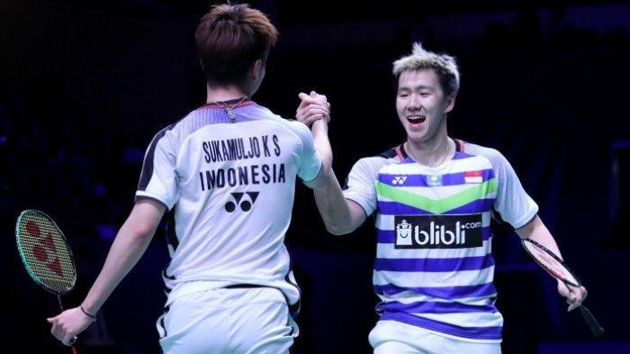 Hasil Piala Sudirman 2019: Indonesia vs China Taipei Skor 1-0, Kevin/Gideon Menang 2 Set Lansung