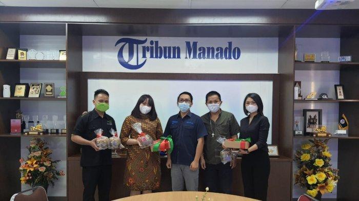 Grand Whiz Megamas Manado Sambangi Kantor Tribun Manado
