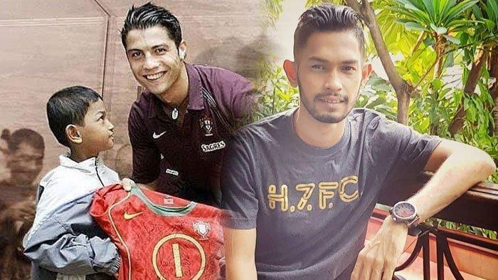 Masih Ingat Martunis? Bocah Korban Tsunami Aceh Anak Angkat Cristiano Ronaldo, Ini Kabarnya Sekarang