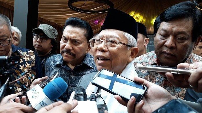 Ini Kata Ma'ruf Amin Terkait Menteri Muda, Perlu Diperhatikan Dengan Serius