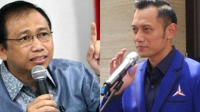 Marzuki Alie dan Agus Harimurti Yudhoyono (AHY).