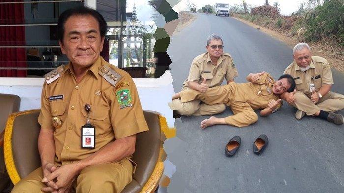 Masih Ingat Budhi Sarwono Bupati Banjarnegara? Dulu Viral Tidur di Aspal, Kini Ramai Izinkan Hajatan