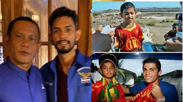 Masih Ingat Martunis Anak Angkat Cristiano Ronaldo Korban Tsunami Aceh?Kini Ia Jadi Kader Demokrat