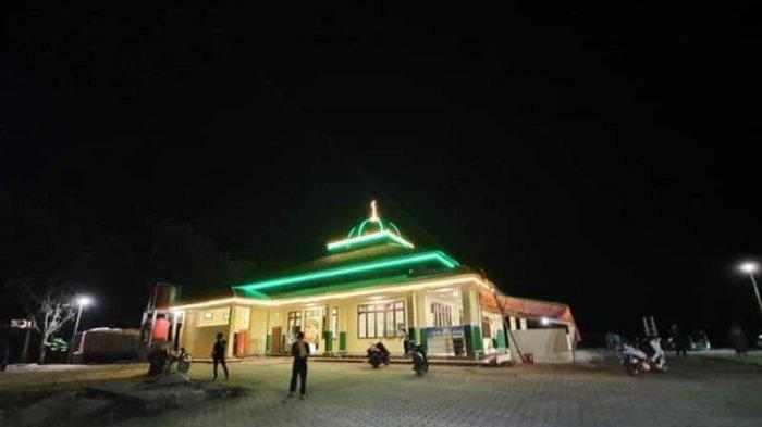 Bulan Ramadan, Masjid Agung Jabal Rahmah Melonguane Talaud Didesain Bernuansa Eksotis