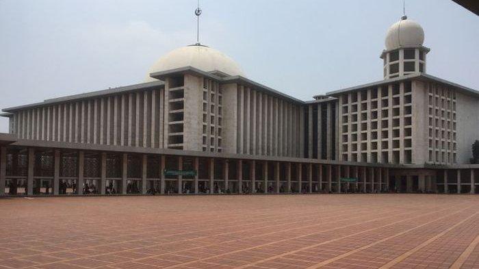 Sepanjang Sejarah, Ini Takbir Akbar Virtual Pertama Masjid Istiqlal