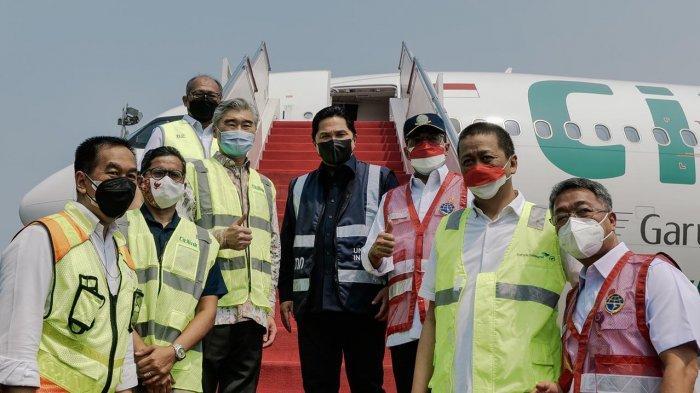 Maskapai penerbangan Citilink melakukan penerbangan langsung Indonesia-Amerika Serikat PP dalam rangka mengangkut bantuan alat kesehatan berupa 176 unit ventilator beserta perlengkapannya yang didatangkan dari New York melalui Newark Liberty International Airport, Amerika Serikat.
