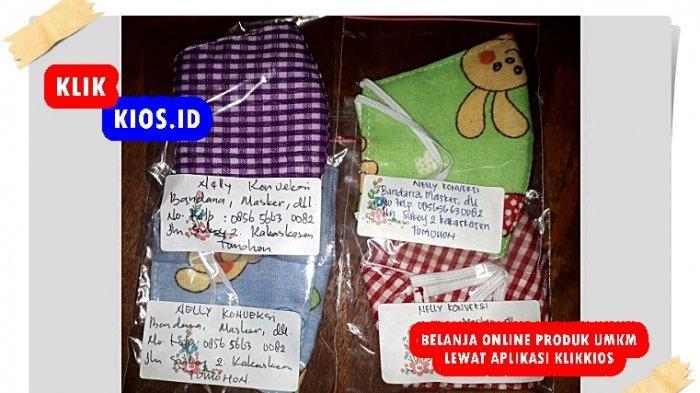 Belanja Yuk! Ada Masker untuk Anak-anak di Kios UMKM Sulut