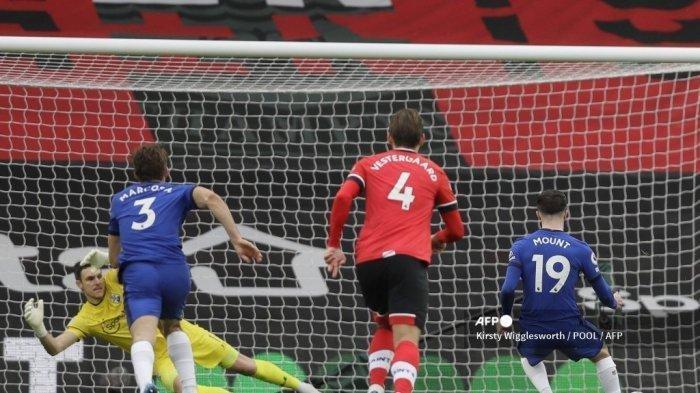Hasil Liga Inggris Southampton vs Chelsea, Skor Berakhir 1-1, The Blues Cetak Sejarah