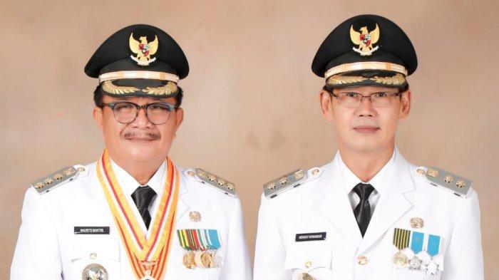 Pelantikan Wali Kota Bitung, Maurits Mantiri-Hengky Honandar Berpesan Tonton dari Rumah Saja