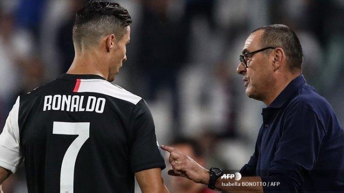 Pemecatan Maurizio Sarri dari Juventus Diduga Ada Kaitannya dengan Cristiano Ronaldo