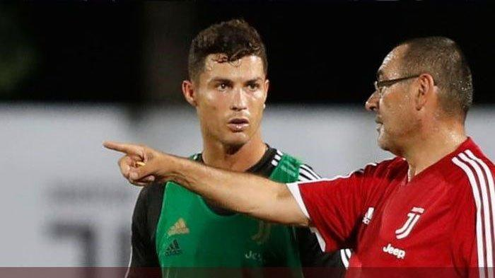 Pelatih Juventus Ingin Anak Buahnya Beri Hadiah ke Cristiano Ronaldo, Syaratnya Menang Lawan Inter