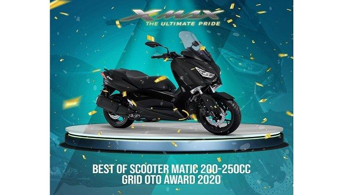 XMAX best of scooter matic 200-250cc grid oto award 2020