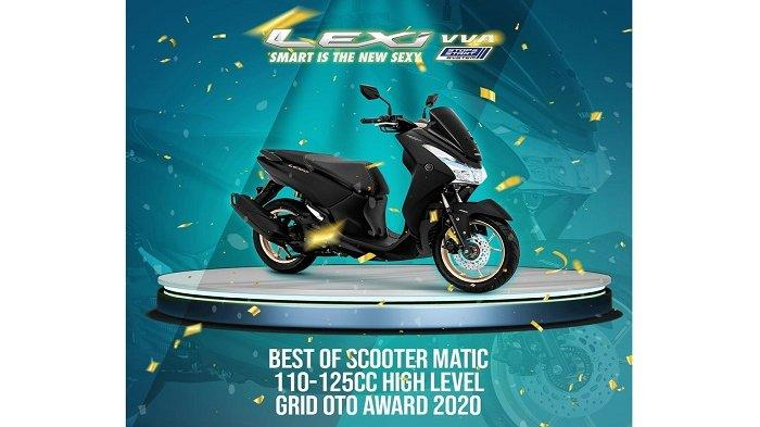 Best of scooter matic 110-125CC high level grid oto award 2020