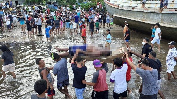 Penemuan Mayat di Periaran Laut Kampung Bandil Sitaro