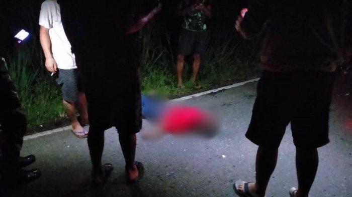 UPDATE, Mayat yang Ditemukan di Pinggir Jalan Bolmong Diduga Korban Tabrak Lari