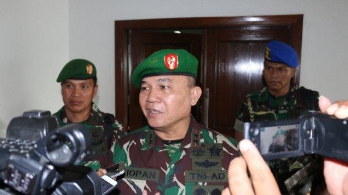 Sosok Letjen Tiopan Aritonang, Mantan Pangdam Merdeka yang Dimutasi Panglima TNI