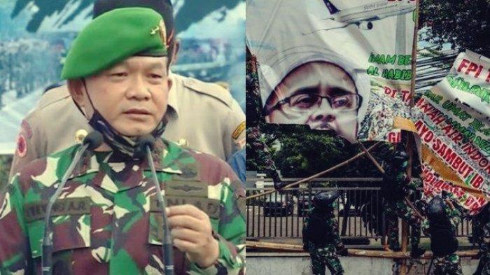 Dulu Turunkan Baliho FPI dan Habib Rizieq, Kini Mayjen TNI Dudung Abdurachman jadi Pangkostrad