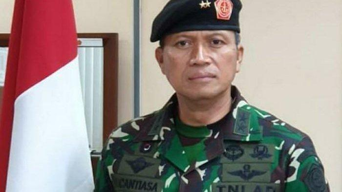 Mayjen TNI <a href='https://manado.tribunnews.com/tag/i-nyoman-cantiasa' title='INyomanCantiasa'>INyomanCantiasa</a>.