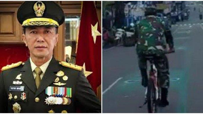 Sosok Mayjen TNI Totok Imam Santoso, Viral Bersepeda Sambil Kenakan Seragam Tentara, Ini Biodatanya