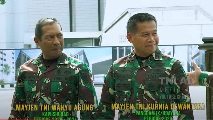 Masih Ingat Mayjen Wahyu Agung? Jenderal TNI Bertubuh Ideal di Usia 57 Tahun, Kini Jabat Kapushubad