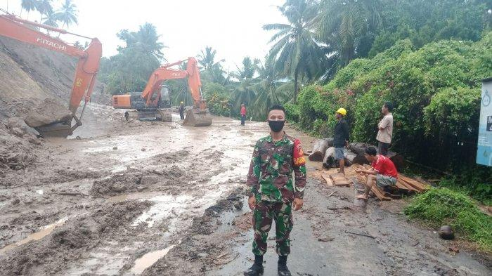 Cuaca Ekstrem, Kasdim Minahasa Siagakan Babinsa Serta Danramil Monitor Setiap Wilayah