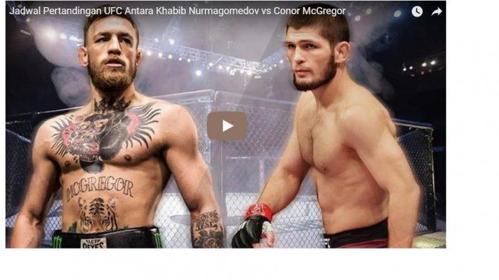 Soal Uang di Duel McGregor vs Nurmagomedov Bukan Masalah Bagi Arab Saudi