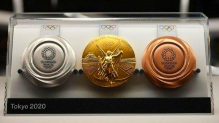 Medali Emas hingga Perunggu Olimpiade Tokyo Terbuat dari Sampah Elektronik, Jepang Manfaatkan Limbah