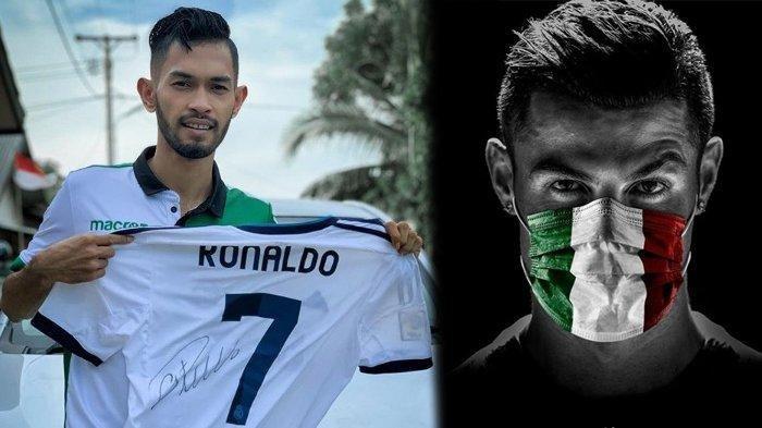 Pemilik Travel Asal Manado, Membeli Jersey Cristiano Ronaldo yang Dilelang Martunis