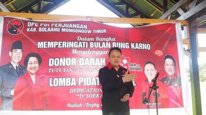 Peringati Bulan Bung Karno, Kegiatan Donor Darah DPC PDI Perjuangan Sukses Digelar