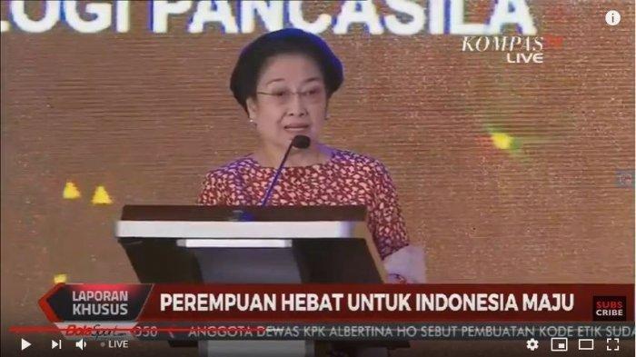 Megawati Ceritakan Kisah Perempuan Yang Sudah Tiga Kali Jadi Menteri Sejak Era SBY Hingga Jokowi