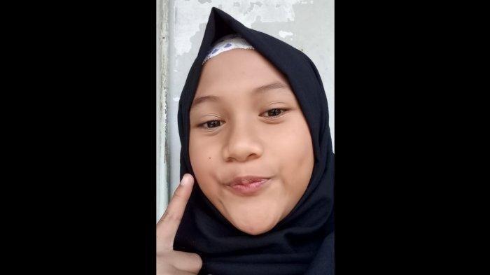 Meisya Nestya Restian Dhani (13) siswi SMP Mahardika, Kabupaten Bandung Barat.