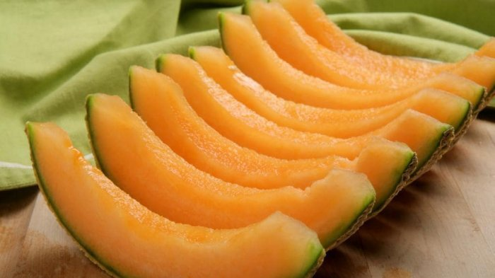 Waspada! Kenali Ciri-ciri Buah Melon Kuning yang Terkontaminasi Bakteri Mematikan