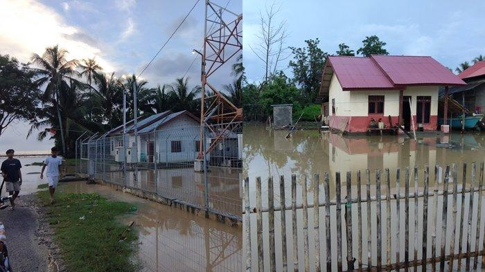 Puluhan Rumah di Desa Tolondadu Bolsel Terendam Air, Diduga Akibat Galian C Ilegal