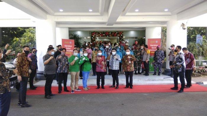 Mendagri Melepas Duta Gerakan Sulut Bermasker, Berpesan Masyarakat Disiplin Gunakan Masker
