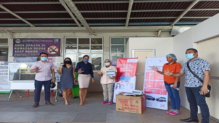 Mendukung Pencegahan Covid-19, Wuling Kumala Donasikan Ribuan Masker