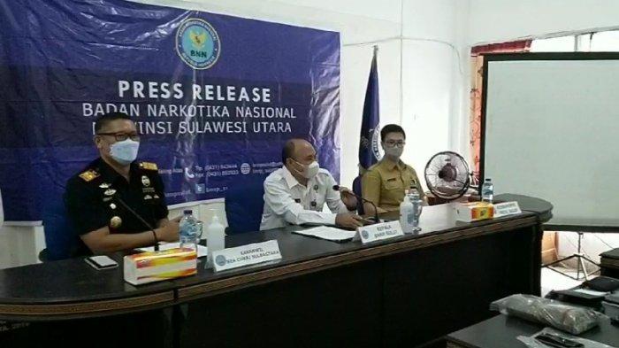 Amankan 22,4 Gram Tembakau Gorila, Bea Cukai Sulut Dapati Asalnya dari Makassar