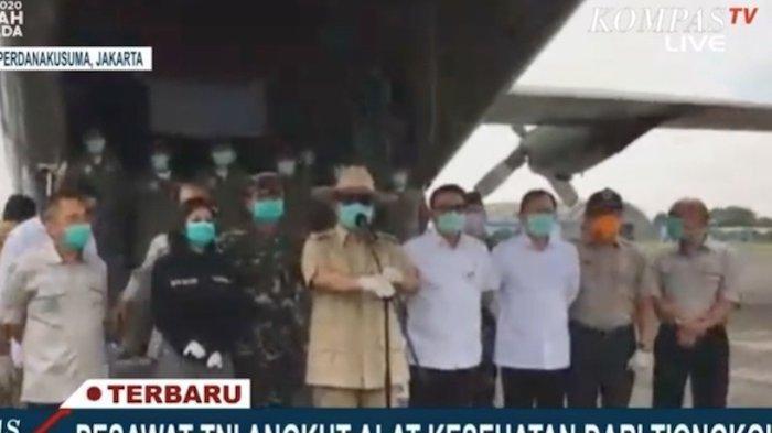 Ajudan Bocorkan Sikap MenteriPrabowo Subianto Terkait Pandemi Virus Corona di Indonesia