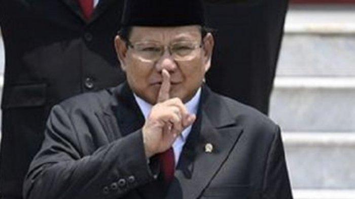 Menhan Prabowo Subianto ungkap alasan sejak jadi Menhan jadi jarang bicara.