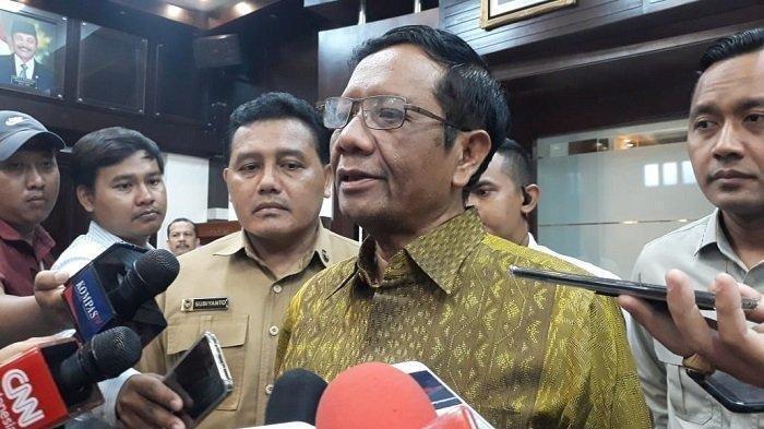 Nama Dewan Pengawas KPK Segera Diumumkan Jokowi,Mahfud MD Ungkap Ada Kejutan