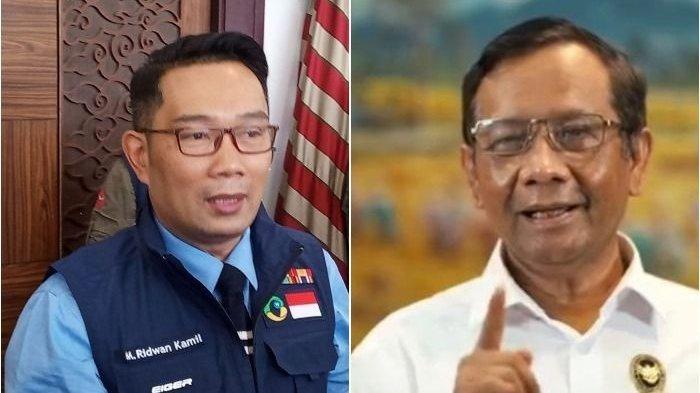 Mahfud MD Skakmat Gubernur Ridwan Kamil, Kang Emil Langsung Minta Maaf Usai Tuding Menko Polhukam